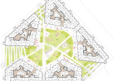 Haus im Leben Wien - Aspern, Architektur: ARGE Delta Ziviltechniker GmbH & AllesWirdGut ZT GmbH