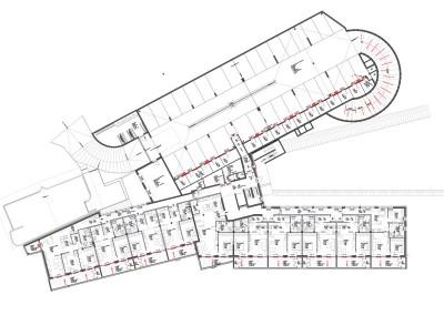 Grundriss Ebene 01, Haus im Leben Vomp - Ortsteil Fiecht, Architektur: DI Martin Both & Mag. Arch. Sieghard Zimmermann