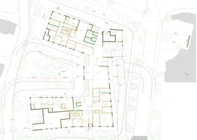 Grundriss Erdgeschoss, Haus im Leben Innsbruck - Höttinger Au, Architektur: Gsottbauer architektur.werkstatt